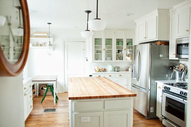 Kitchen Makeover Inspiration - Kitchen from thenatos.com