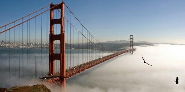 7. गोल्डेन गेट ब्रिज, सैन फ्रांसिस्को (Golden Gate Bridge, San Francisco, USA)