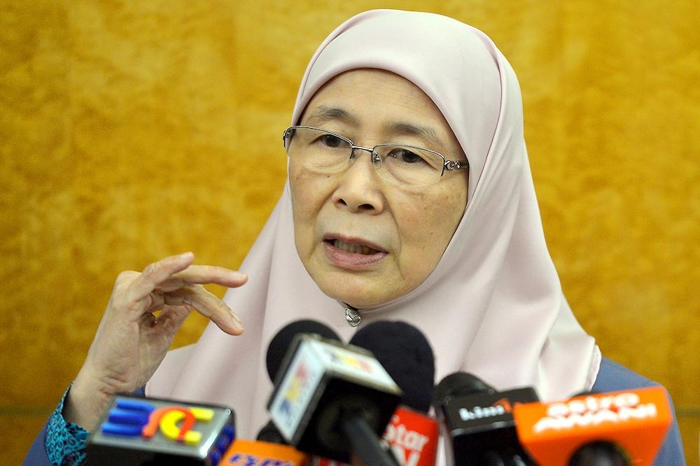 Hasil gambar untuk Wakil Perdana Menteri Datuk Seri Dr Wan Azizah Wan Ismail