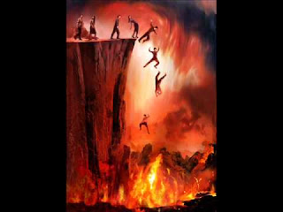 falling into the Lake of Fire