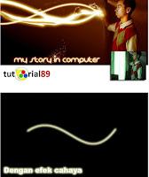 Cara Membuat Efek Cahaya Di Photoshop