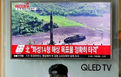 Η Βόρεια Κορέα εκτόξευσε νέο βαλλιστικό πύραυλο εντός της ιαπωνικής ΑΟΖ