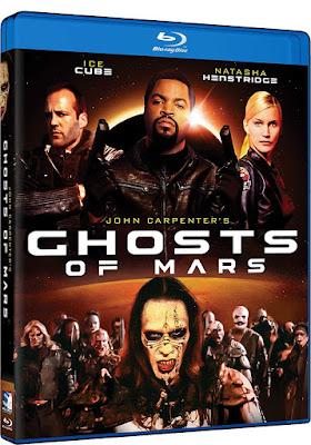 Ghosts Of Mars 2001 Blu Ray
