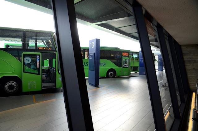타오위안공항 버스타는 곳