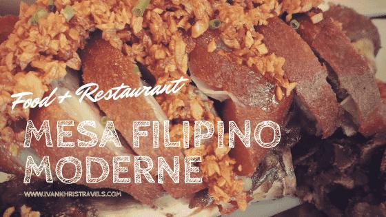 Mesa Filipino Moderne restaurant review