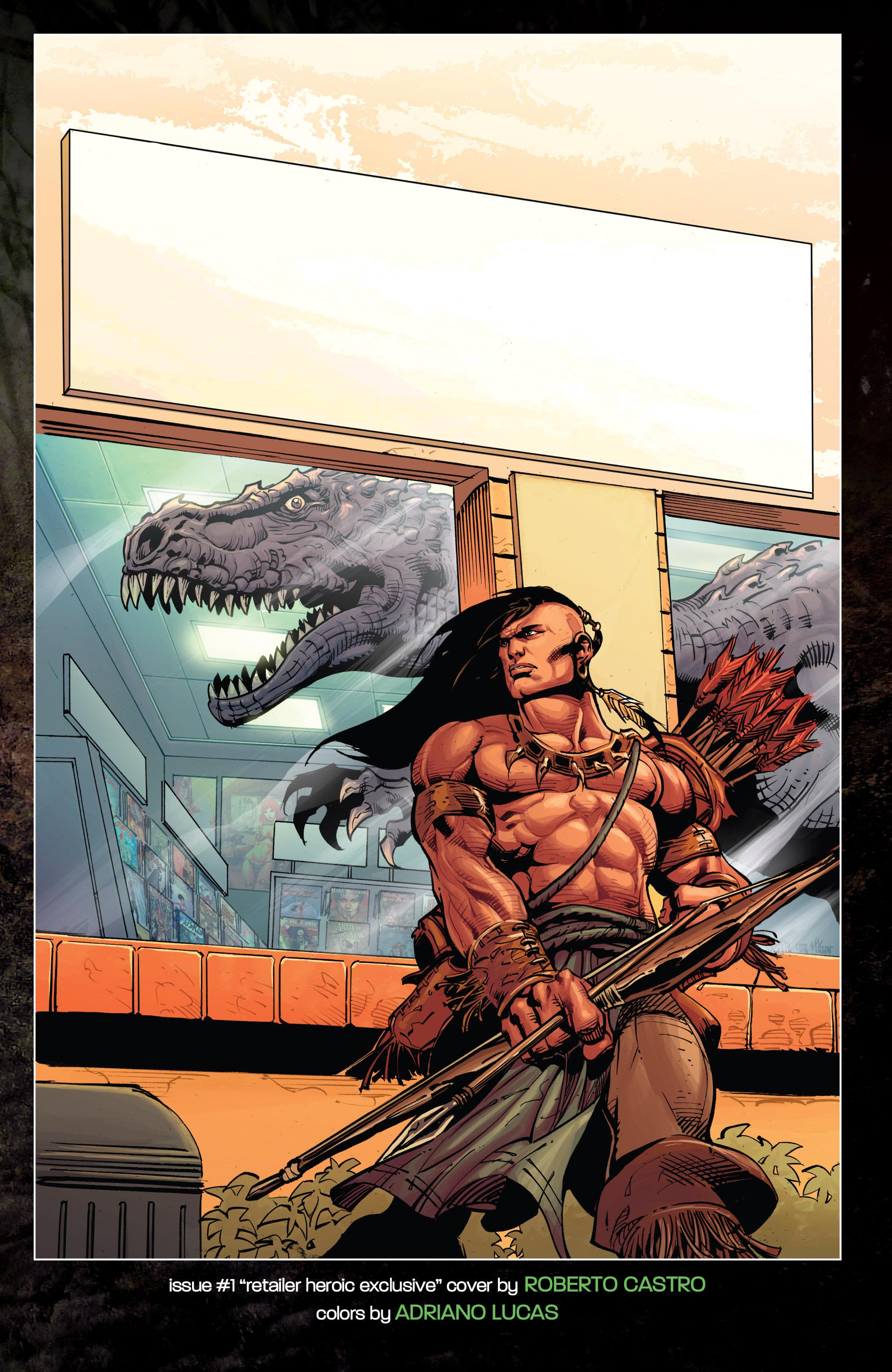 Read online Turok: Dinosaur Hunter (2014) comic -  Issue # _TPB 1 - 122