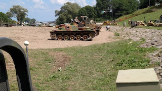 D-Day Reenactment at Conneaut Ohio, STUG