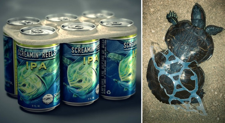 Beer Company Develops Edible Six-Pack Rings That Feed, Rather Than Kill, Marine Life