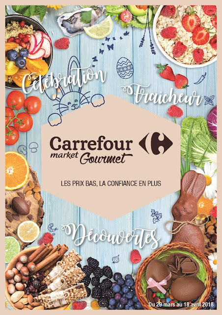 catalogue carrefour market gourmet maroc mars avril 2018