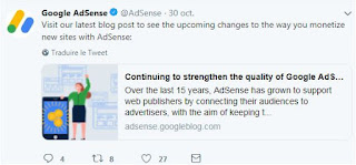 Google adsense updates