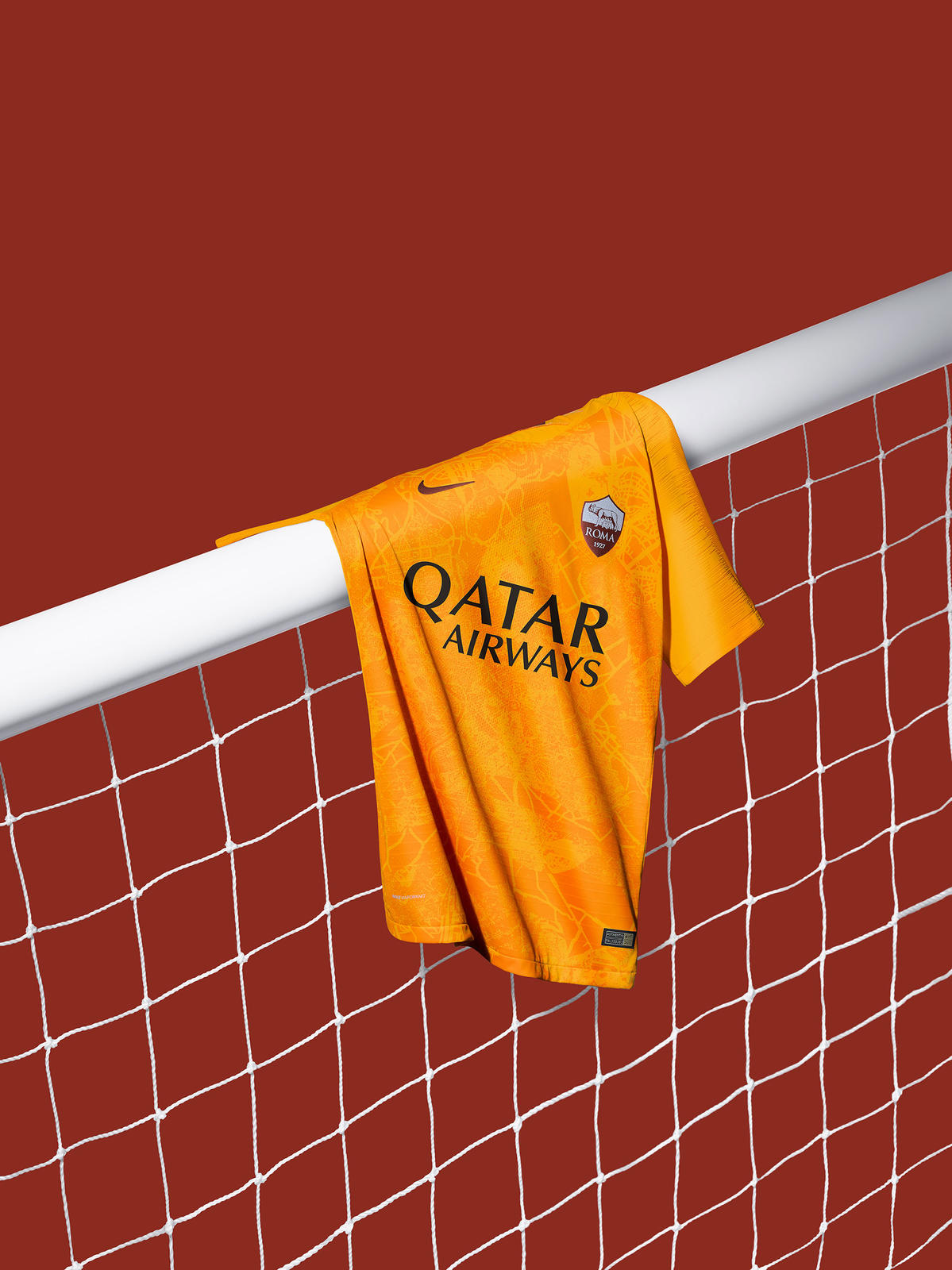 Nike AS Roma 18-19 Third Kit Released - CR7 Gold