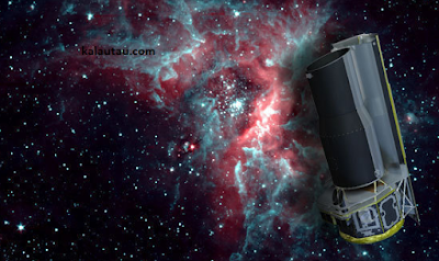 kalautau.com - Spitzer Teleskop Nasa Menemukan Galaksi Tersembunyi