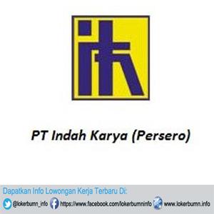 Peluang kerja terbaru BUMN di PT Indah Karya (Persero) untuk lulusan D3 di Bandung