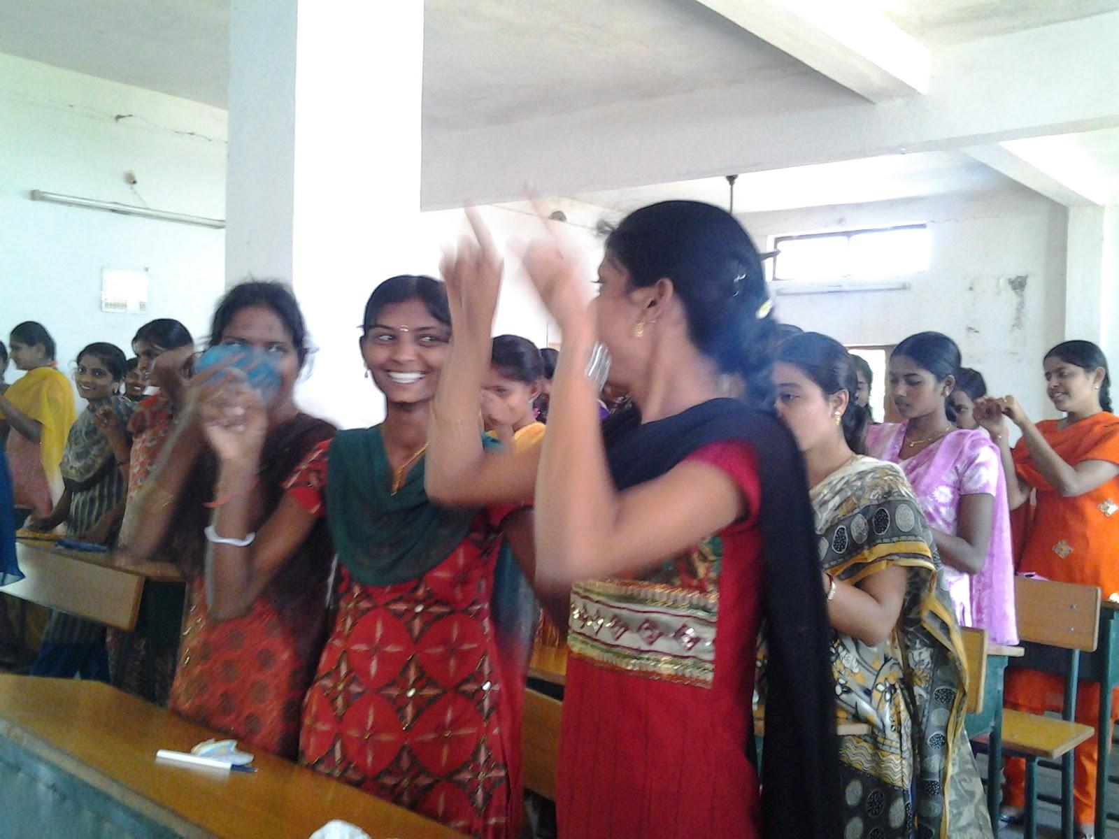 women empowerment cell indira gandhi jayanthi celebrations winner in essay competition bhargavi