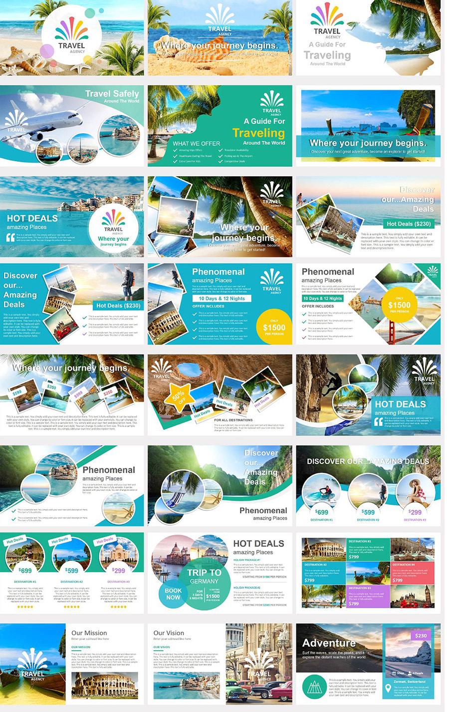 Presentations Powerpoint Travel Tourism