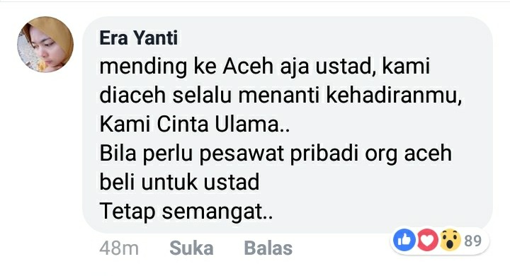 Ustadz Somad Batal Hadir, Respons Jamaah Bikin Haru dan Nangis