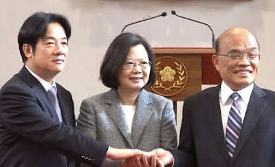 Su Tseng-chang appointed as Taiwan PM