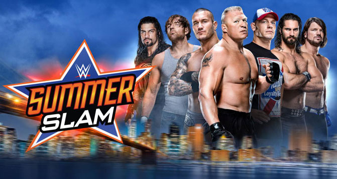 WWE SummerSlam 2016 Ten Sports Broadcasting Time and Date IST (Indian Time), Fight Schedule