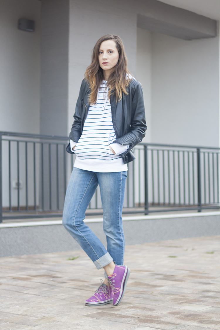 Bonprix stripped hoodie Standfor One Gender shoes