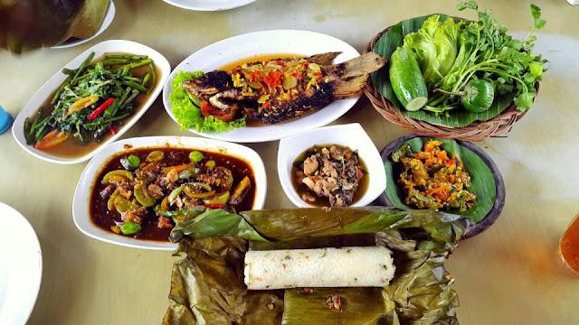 Tempat-tempat kuliner khas sunda