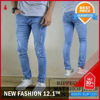 SUP1233C14 Celana Jeans Cowok Youges Stretch Regular BMGShop