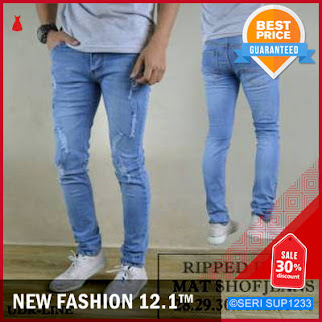 SUP1233C14 Celana Jeans Cowok Youges Stretch Regular BMGShop