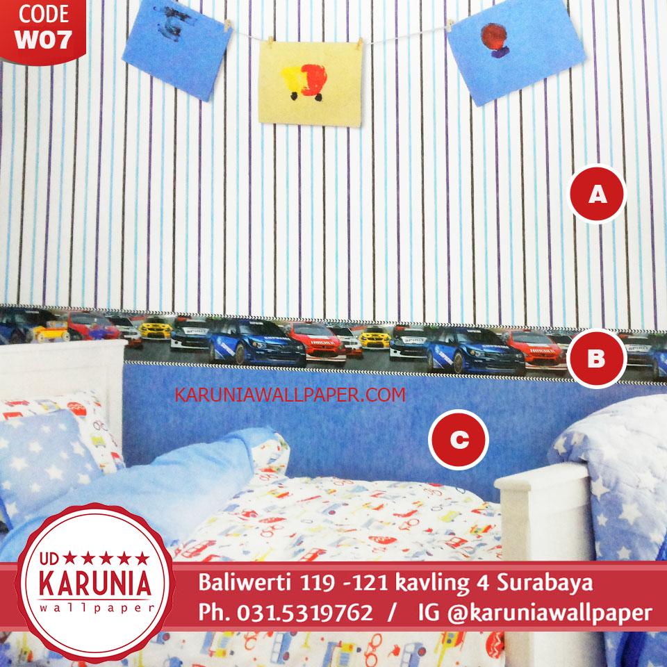 jual wallpaper kamar bayi surabaya