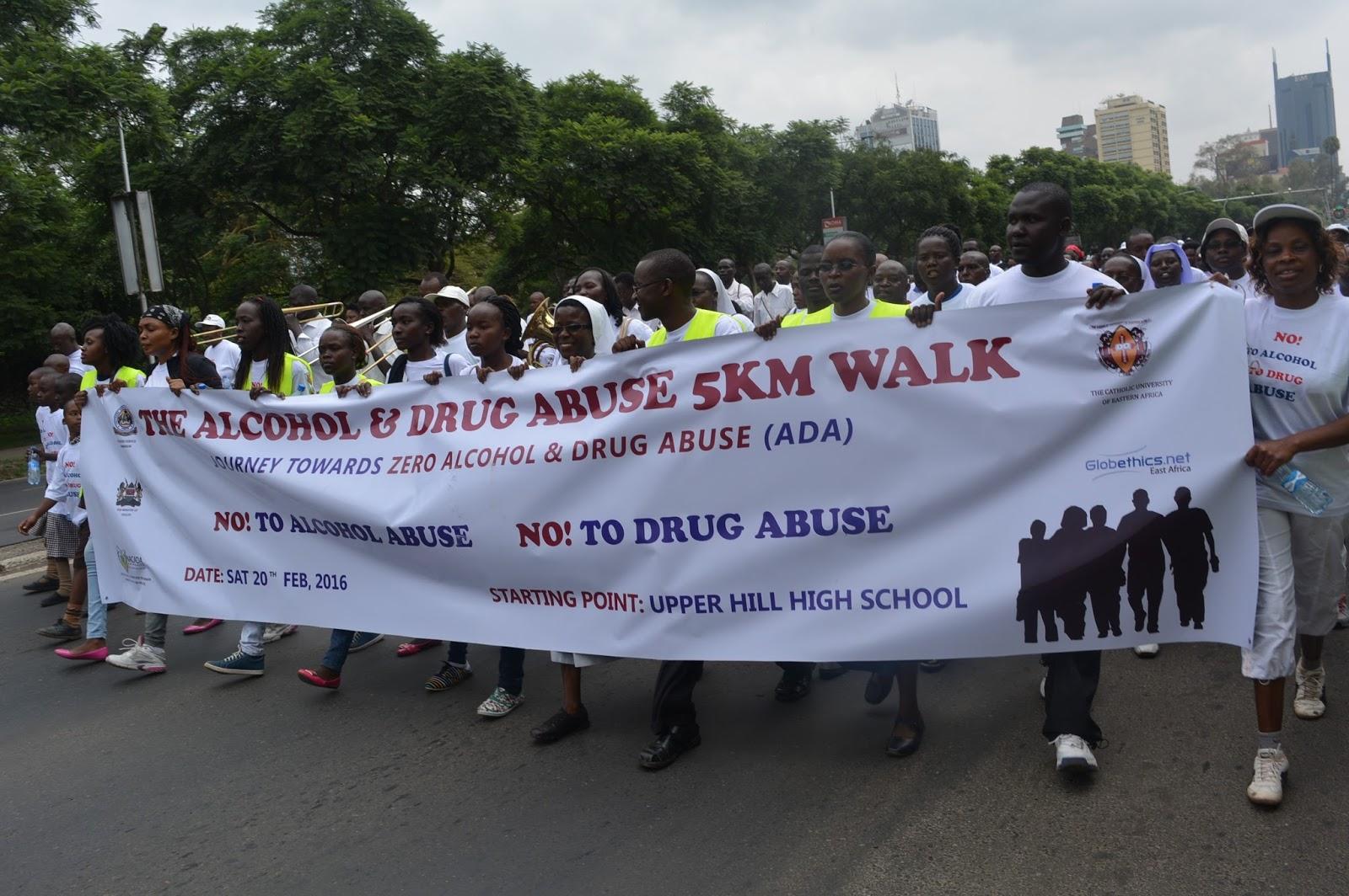 drug abuse at cuea nairobi Citation: kaithuru pn, stephen a (2015) alcoholism and its impact on work force: a case of kenya meteorological station, nairobi j alcohol drug.