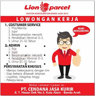 Kantor Lion Parcel Banda Aceh