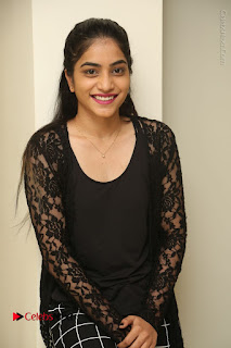 Actress Punarnavi Bhupalam Stills in Black Dress at Pittagoda Press Meet  0049.JPG