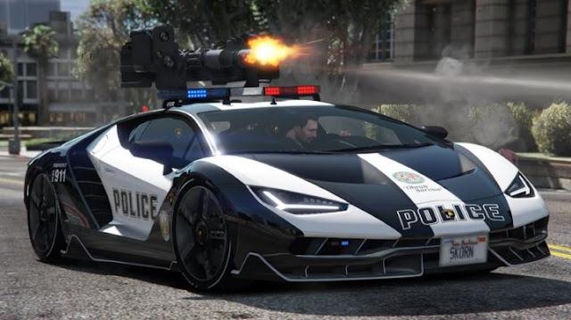 Cars police GTA V