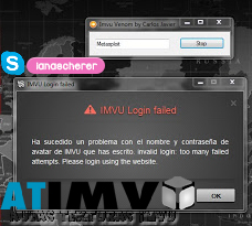 Bloqueador de contas (VENOM IMVU) | Texturas IMVU (Criar e