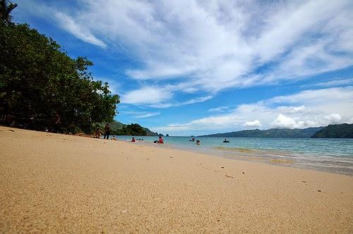 Pantai Pasir Putih Lampung Selatan