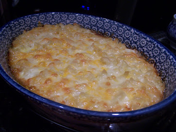 Hubby's 5 Star Blue Ribbon Mac & Cheese