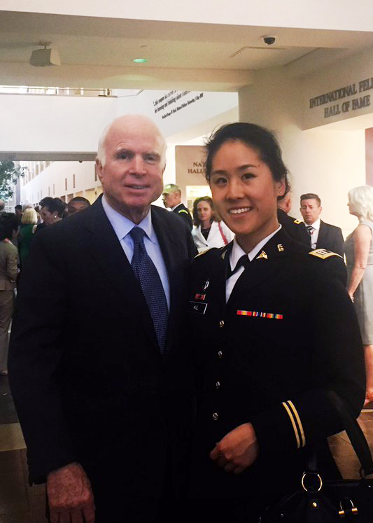 Kil with John McCain