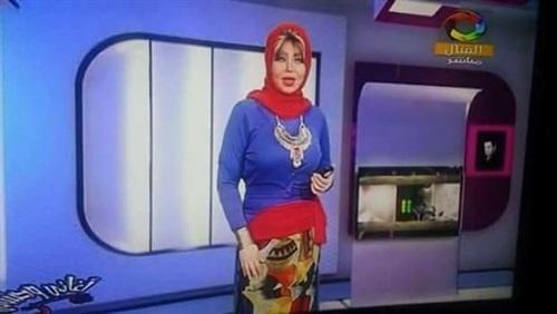 التليفزيون المصرى يعاقب مذيعة بلفت النظر بسبب طريقة لبسها الغريبة