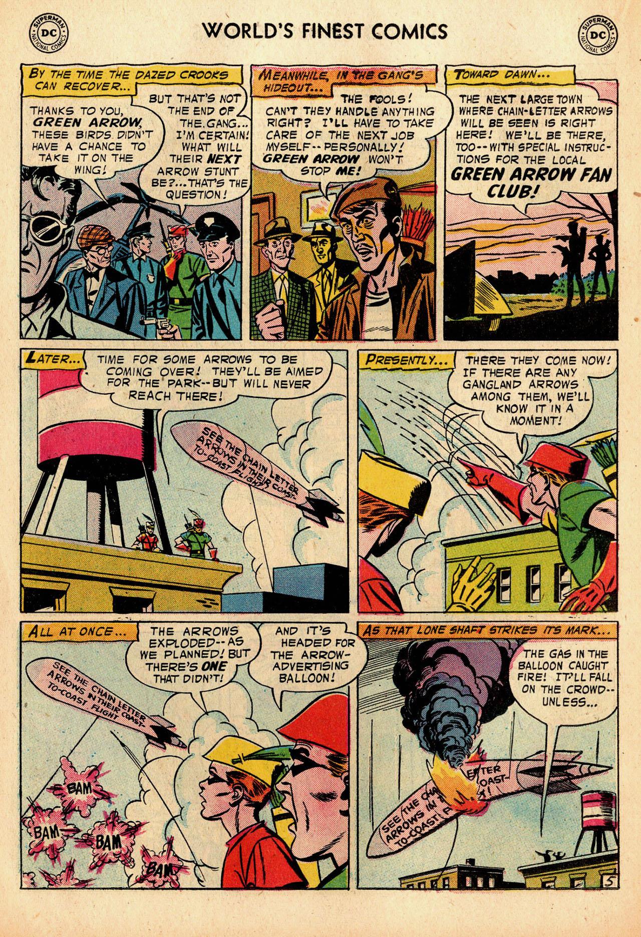 Read online World's Finest Comics comic -  Issue #91 - 22
