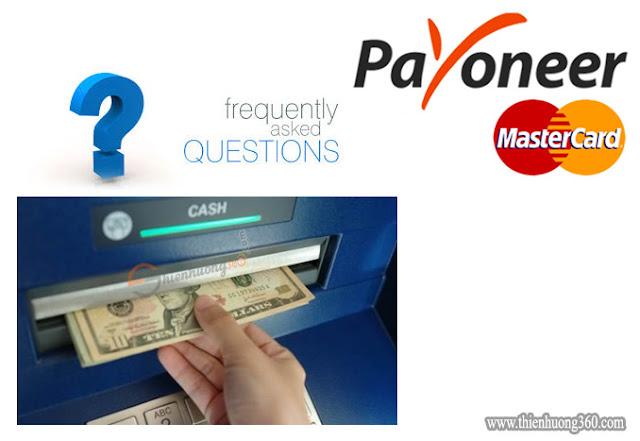 Những câu hỏi thường gặp khi sử dụng, đăng ký Payoneer | Phần 4