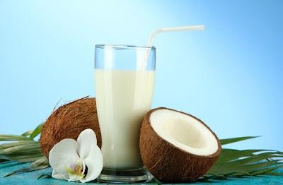 Sữa dừa chứa nhiều chất dinh dưỡng giúp tăng cân nhanh