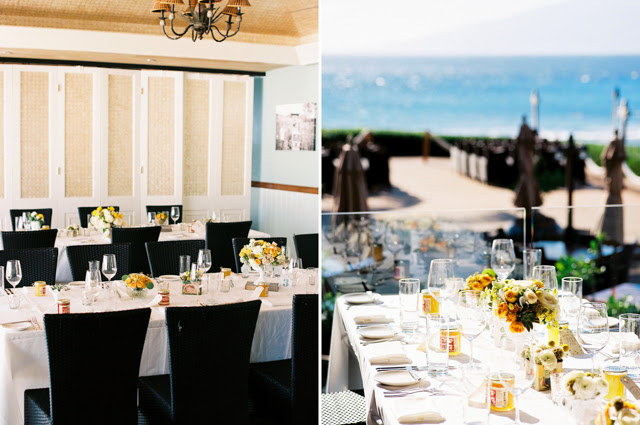 merrimans kapalua restaurant wedding venue