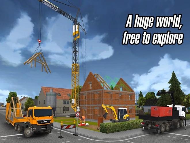 Gestiona una empresa de construcción y construye tu ciudad con Construction Simulator 2014