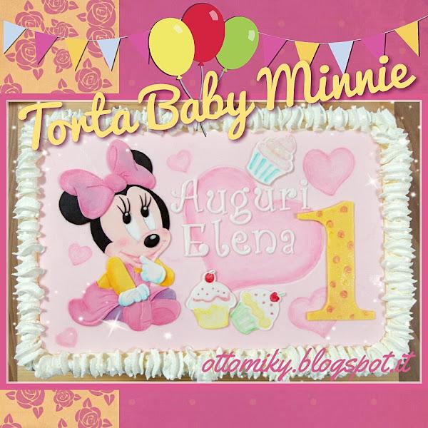 Otto&Miky: Torta Baby Minnie