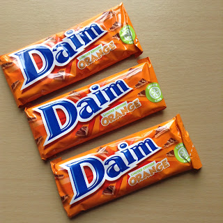 Daim Limited Edition Orange (Poundland)