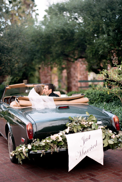 Easy Ideas On How To Decorate A Wedding Car City Of