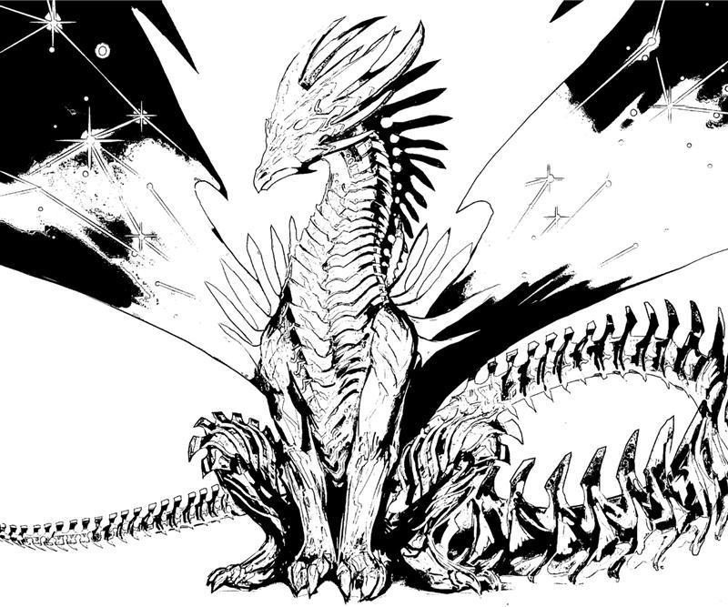 Printable coloring pages of realistic dragons ~ Might and Magic Heroes: 10 Strongest Dragons | Yumiko Fujiwara