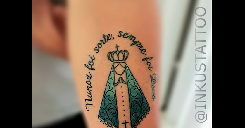 Inkuts Tattoo Art Nunca Foi Sorte Sempre Foi Deus