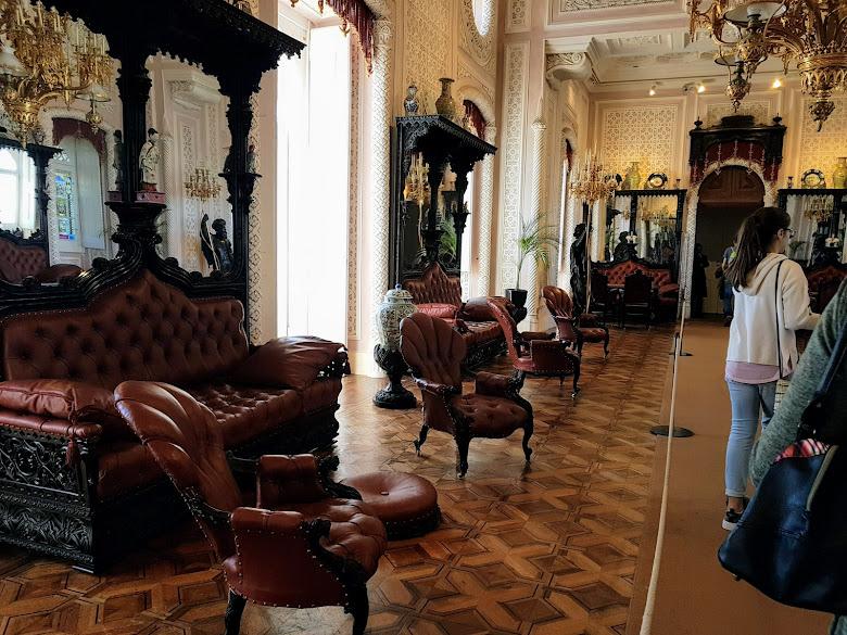 佩納宮內部展示