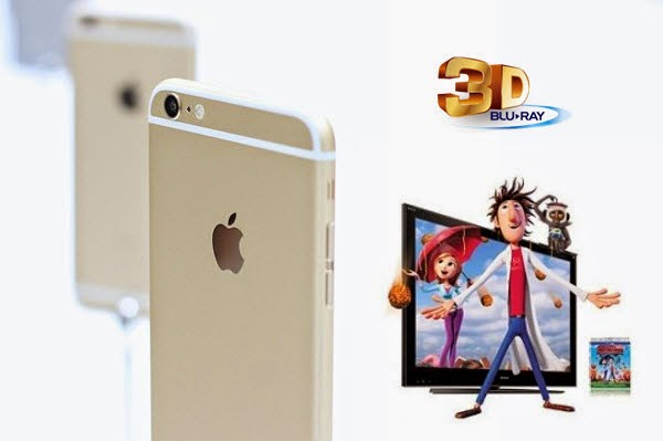 enjoy 3D Blu-ray movie on iPhone 6 (Plus)