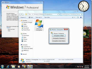 windows 7 downgrader