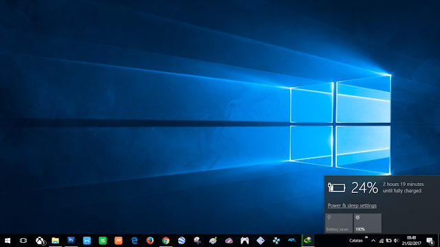 Windows 10 will reduce baterry peformance